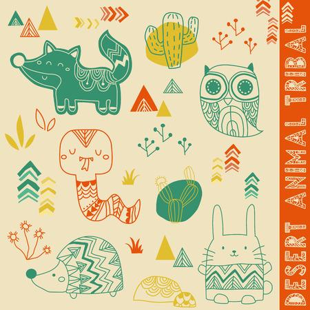 Desert Animal Tribal