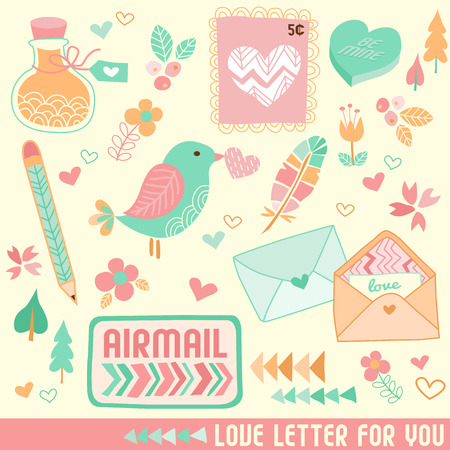 airmail: Valentine Love Letter