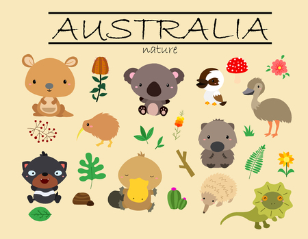 frilled: Australia Nature
