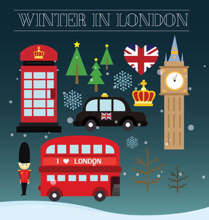 british army: Winter in London