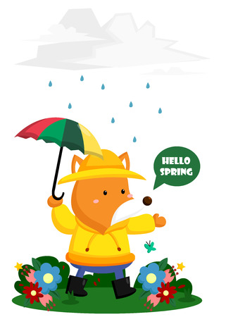 rain coat: Hello Spring