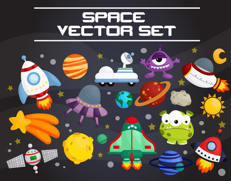 Space and Galaxy Set