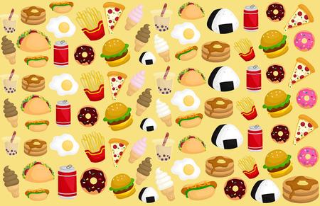 Food Background Reklamní fotografie - 39076295