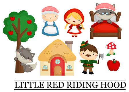 little red riding hood: Caperucita Roja