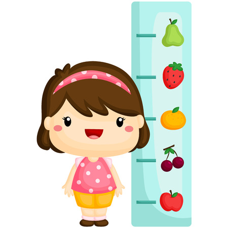 height: Girl Checking Height