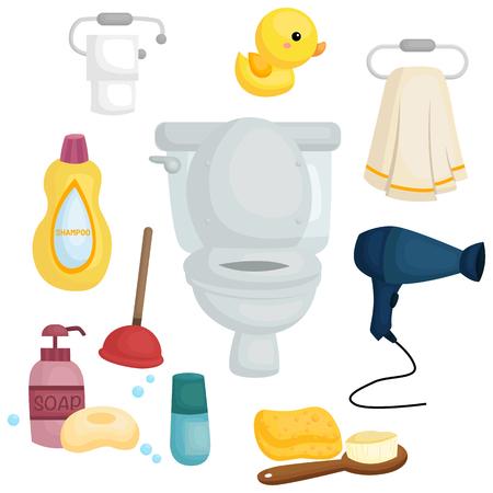 toilet brush: Bath Utility