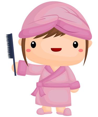 combing: Combing Hair