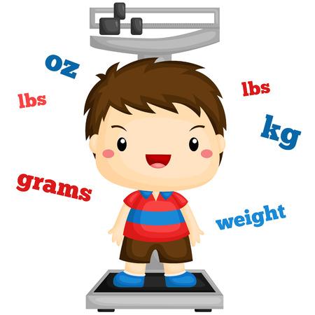 Boy Weighing