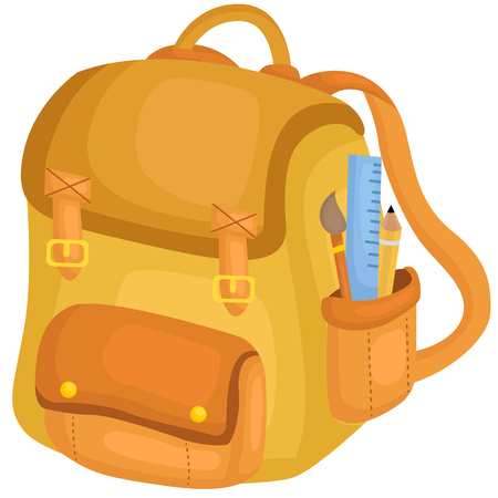 Backpack Ilustrace