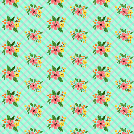 shabby chic: Shabby Chic Floral Background
