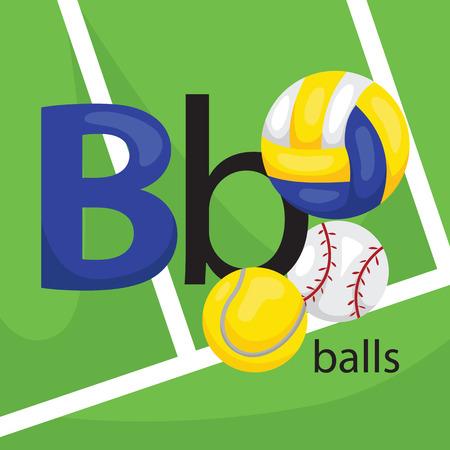 b ball: B for Ball