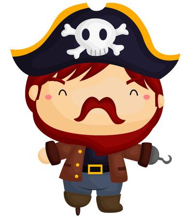 bearded: Bearded Pirate