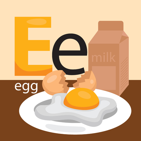 crack up: E for Eggs Illustration