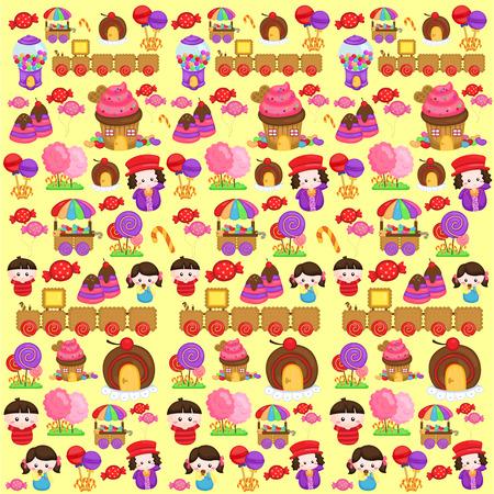 fantasy background: Candyland Fantasy Background