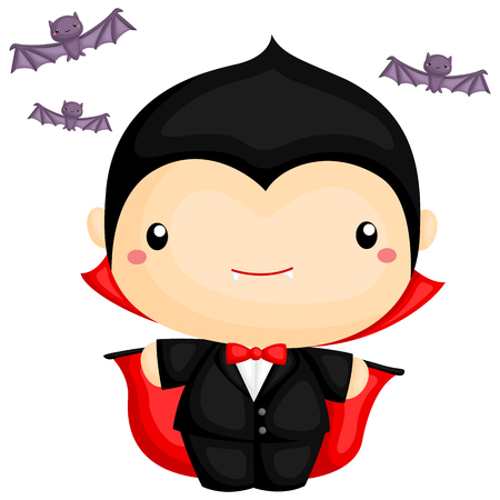 cartoon vampire: Cute Vampire