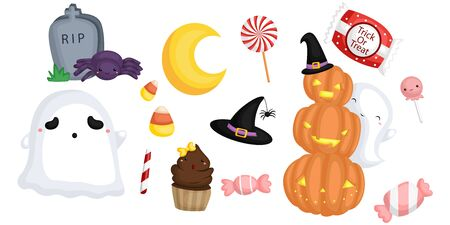 stuffs: Halloween Stuffs Illustration