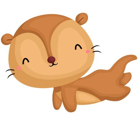 sea otter: Happy Otter