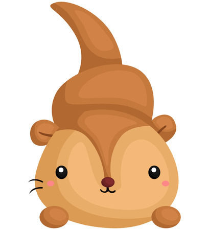 sea otter: Cute Otter Illustration