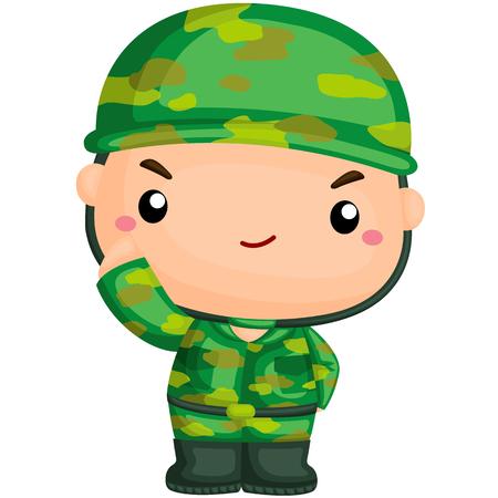 Netter Soldat