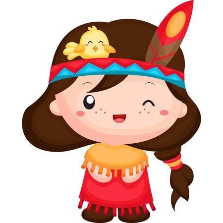 native american girl: The Native American Girl