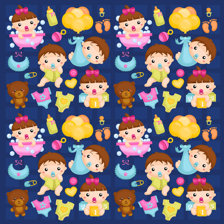 Babies in Action Background