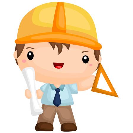 architect: Cute Architect boy