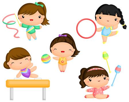 Gymnastics Stock Illustratie