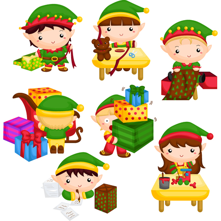 Elf in Santa's Workshop