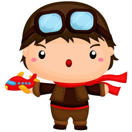 piloto: Lindo pequeño piloto