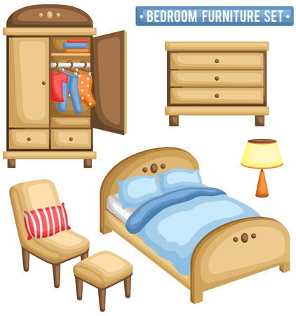 bedroom furniture: Bedroom Furniture Set