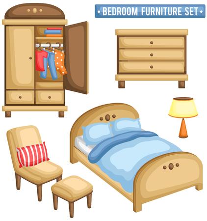 Dormitorio de muebles