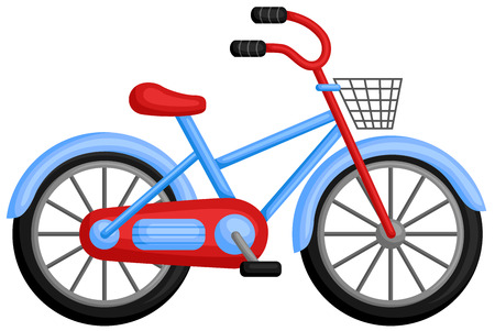 pedaling: Bicycle Illustration