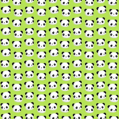 oso panda: Antecedentes cabeza de la panda