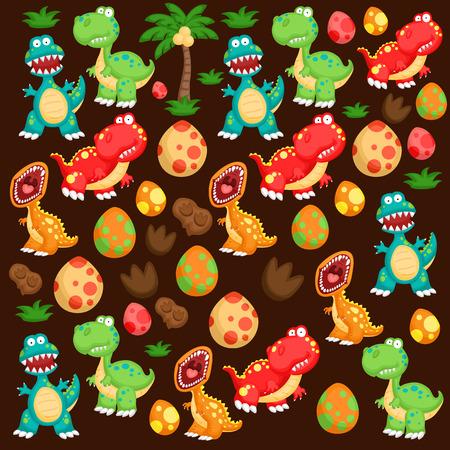 tyrannosaurus: The cute tyrannosaurus background