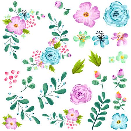 Preassembled Spring Floral Set