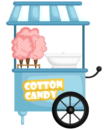 a cotton candy machine ready to server cotton candy