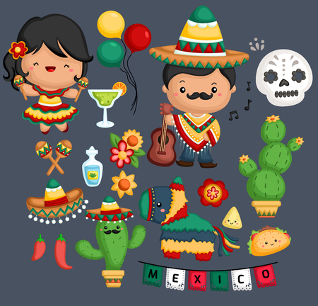 Mexican Culture and tradition Ilustrace