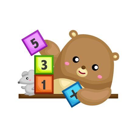 little bear learning number