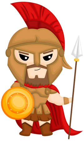 A vector of Ares the God of War