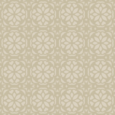 jugendstil: Seamless elegant calm pattern  Illustration