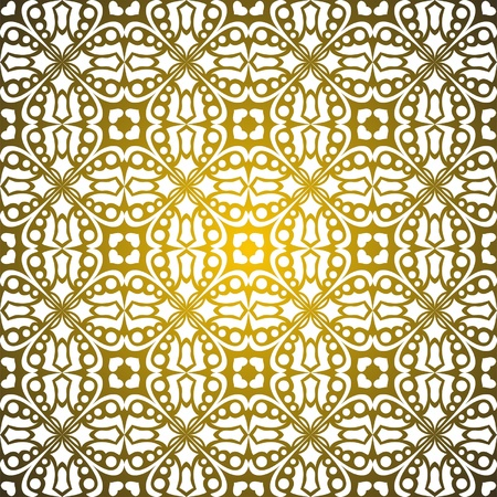 renaissance art: Seamless pattern empire of the sun