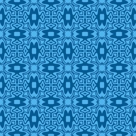 Ultramarine seamless wallpaper Vector