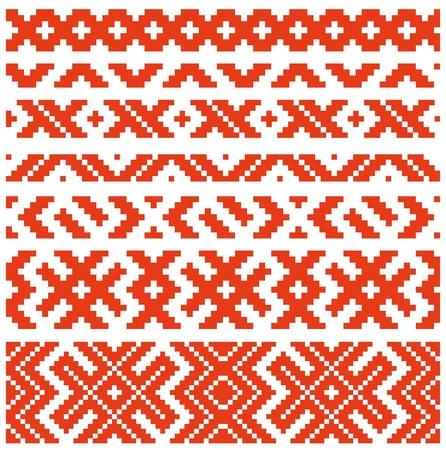 belorussian: Belorussian traditional ornament two