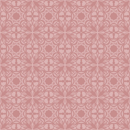 jugendstil: Gentle elegant seamless pattern