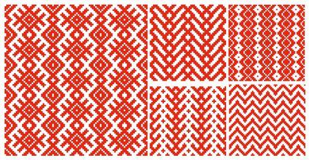 belorussian: Belorussian traditional ornament five