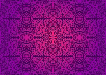 pink swirl: Gorgeous violet seamless pattern