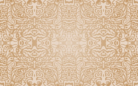 Beige luxury seamless pattern Stock Vector - 12284583