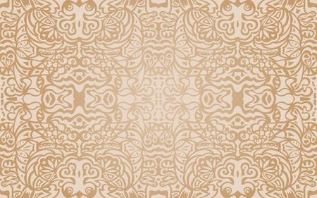 Beige luxury seamless pattern Stock Vector - 12284583