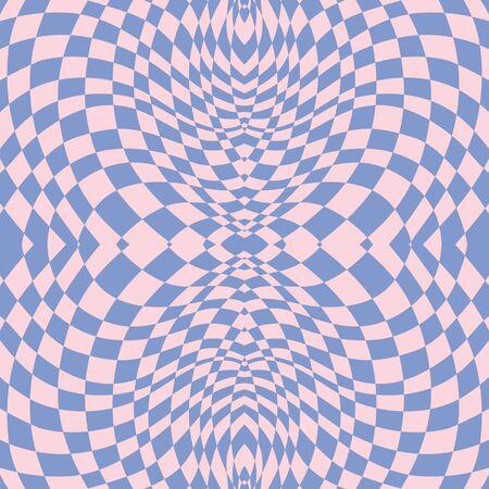 Hypnotic lila naadloze patroon Stock Illustratie