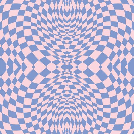 Hypnotic lilac seamless pattern Vector